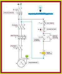 Electricistas de Lleida, Esquemas eléctricos: Motor monofásico
