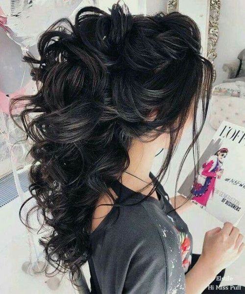 Sensational Wavy Hairstyles 2019 for Prom
