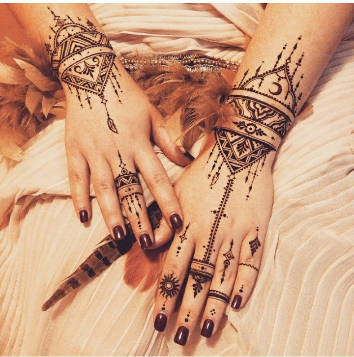 1000 ideas about tribal hand tattoos on pinterest simple hand henna simple hand tattoos and. Black Bedroom Furniture Sets. Home Design Ideas