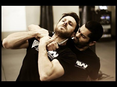 Krav Maga Technique: Knife Defense in a Hostage Situation: Krav Maga Worldwide - Self Defense - YouTube