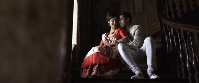 West Wycombe Estate wedding film, Bengali wedding cinematography was amazing. Nurain and Ria were beaming throughout the day, and it's not hard to see why.