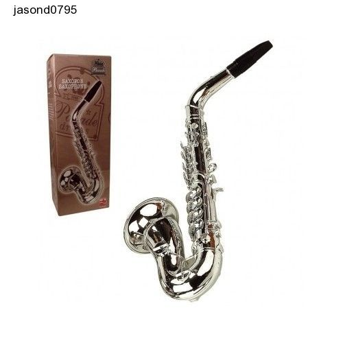 Child Kids School Learning Saxophone Music Boxed Silver Gift Fun Play Music Kid