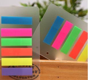 AD0-Free доставка 48*12 мм прозрачный красочные memo pad (1 шт)