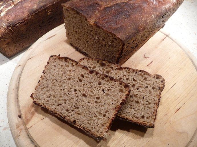 Celozrnný kváskový chléb Šumava