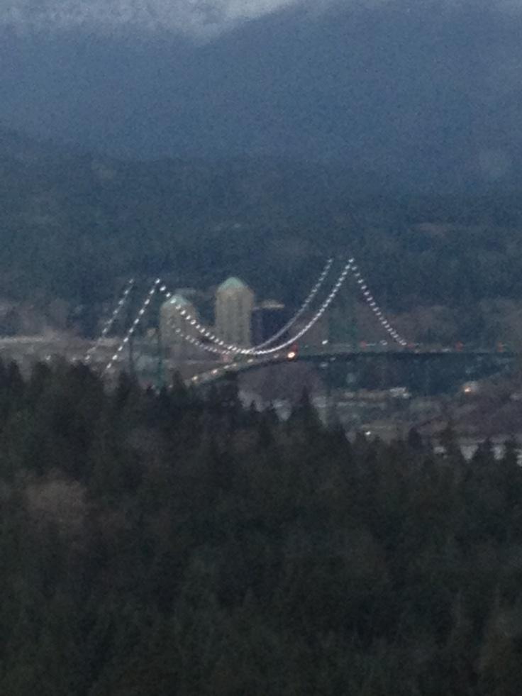 Lion's Gate Bridge Vancouver British Columbia