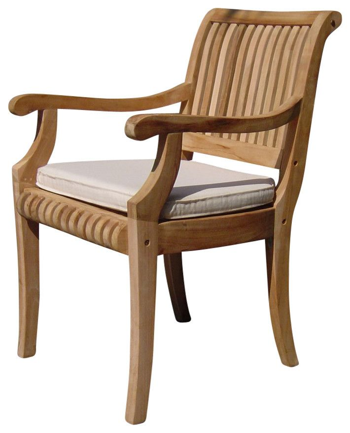 Giva Arm Chair Outdoor Teak Outdoor Chairs Teak Outdoor Furniture Furniture