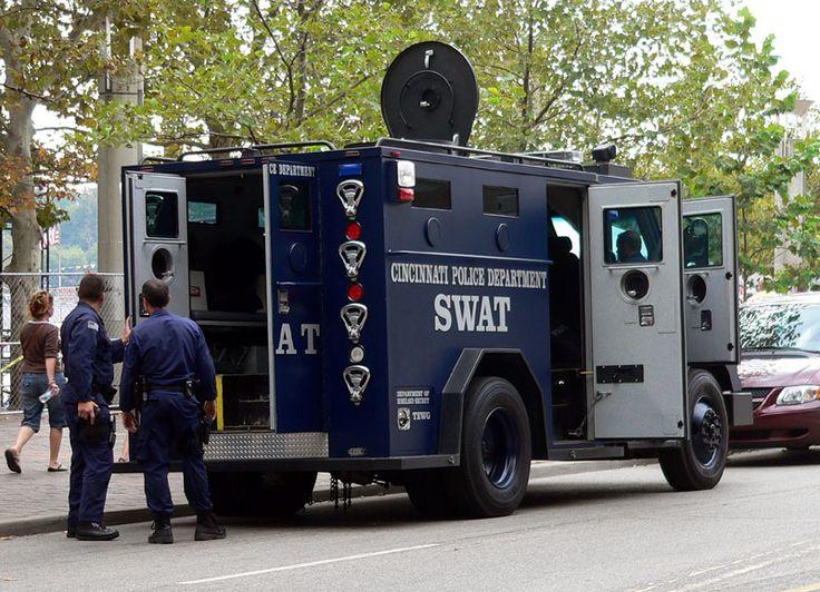 Cincinnati Oh Pd Swat Truck Police Swat Trucks
