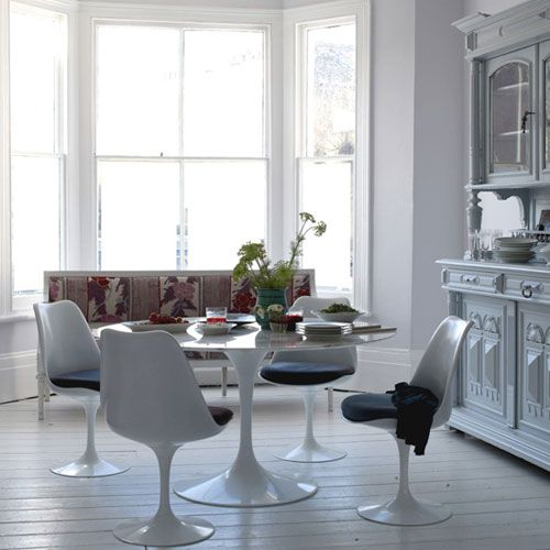The Saarinen Table And Tulip Chairs...I Have An Ikea Knock Off Part 92