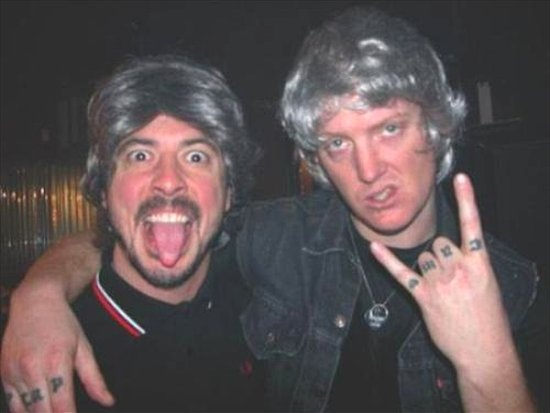 Josh Homme and Dave Grohl XD
