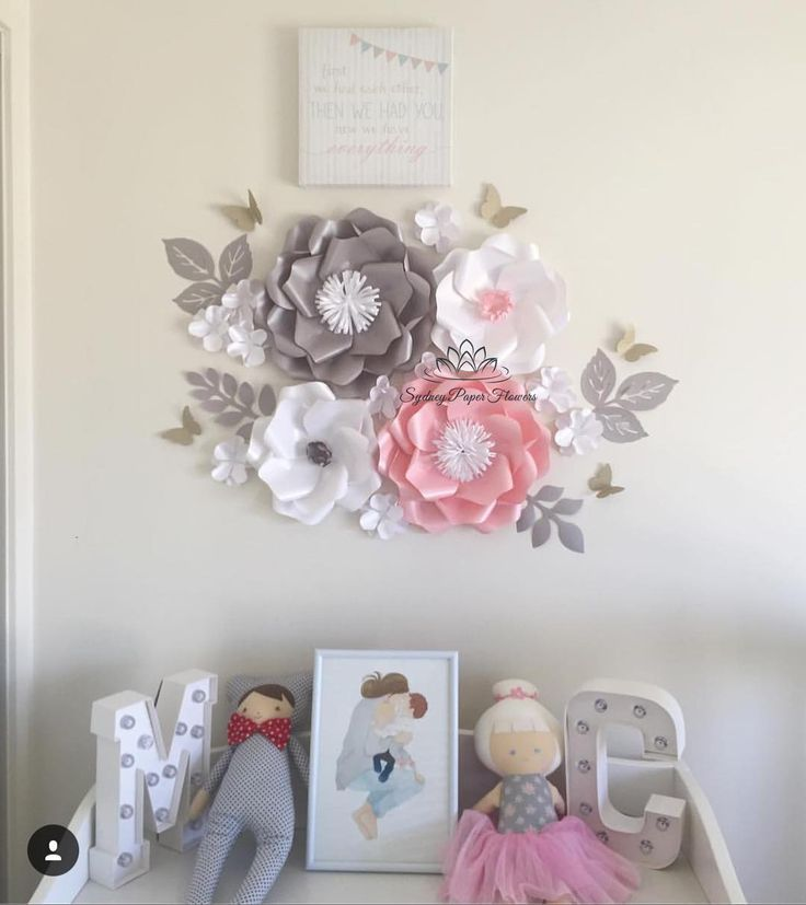 536 отметок «Нравится», 20 комментариев —  paper flower BACKDROPS  (@sydneypaperflowers) в Instagram: «Look what a nursery styling for Chloe and Mason, our gorgeous twins who got our Super Mini set of…»
