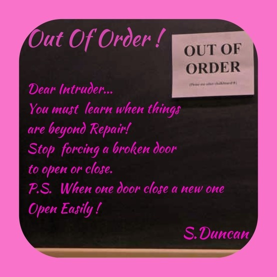 Quote When One Door Closes Another Opens: When One Door Close Another One Will Open..