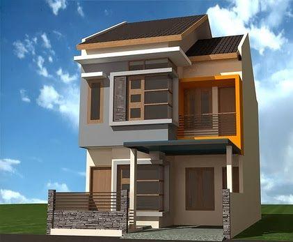 Minimalist House Design Level Two | Desain Rumah Minimalis Dua Lantai