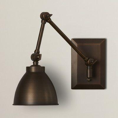 trent austin design tarpon swing arm wall sconce u0026 reviews wayfair
