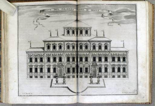 Venaria Reale. La facciata del Palazzo Regia di Diana