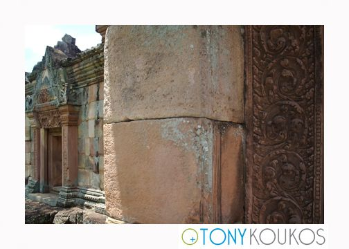 thailand, stone, carving, reliefs, crumbling, brick, columns, masonry, temple