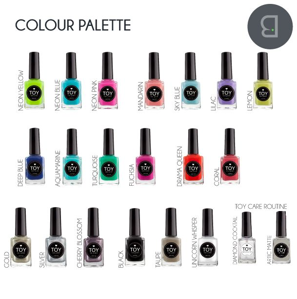 What colours would you spoil your mum with? Be.Vibrant #nailpolish #toystyle #toyau #gifts #mothersday