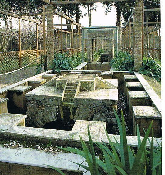 roman garden reconstruction - Google Search