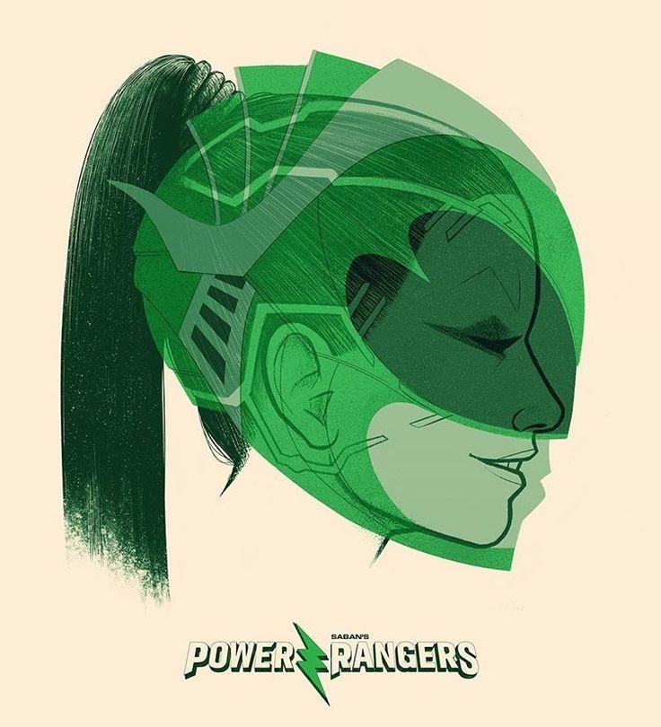 Green Ranger/Rita Repulsa by Jublin on Instagram