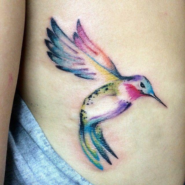 watercolor hummingbird - Google Search