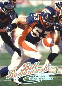 1999 Ultra #26 Bill Romanowski Front