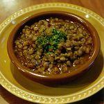 モロッコ料理の台所 エンリケ・マルエコス - 料理写真:レンズ豆の煮込