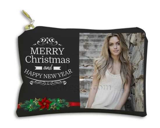 Portachiavi Portamonete Merry Christmas