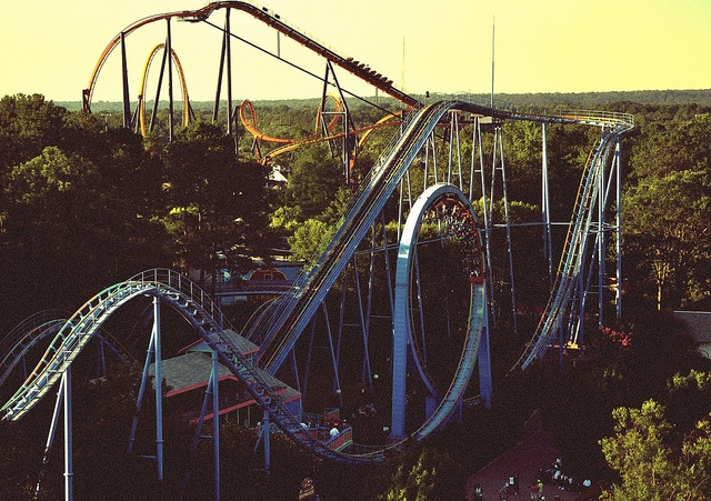Kings Dominion. Virginia ---I had a great time at Kings Dominion. The roller coasters were awesome!