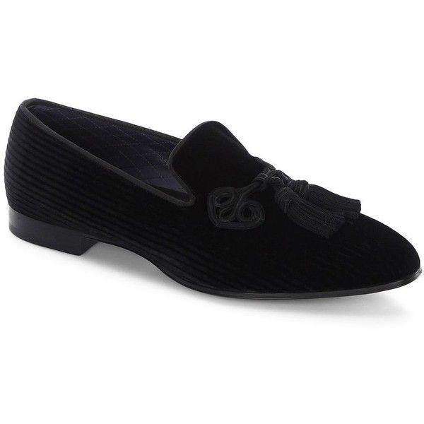 Louis Leeman Corduroy Tassel Loafers ($566) ❤ liked on Polyvore featuring men's fashion, men's shoes, men's loafers, mens tassel loafers, mens tassel shoes, mens tassle loafers, mens tassel loafer shoes and louis leeman men's shoes