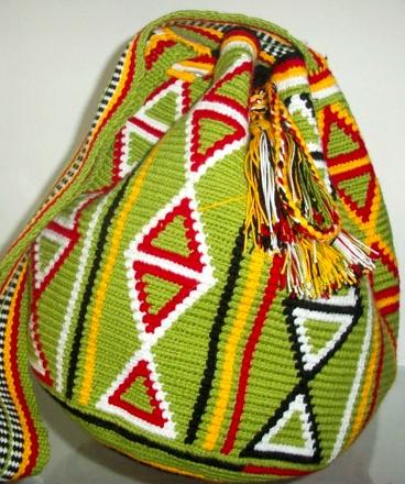$85 handwoven Wayuu bags. Email Linda@shoptalitha.com