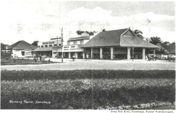 Warung Turi atau Pasar Turi Surabaya, tahun 1931