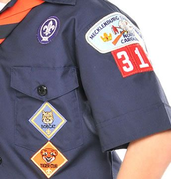 Boy Scouts of America Uniform - where to put these patches!!!