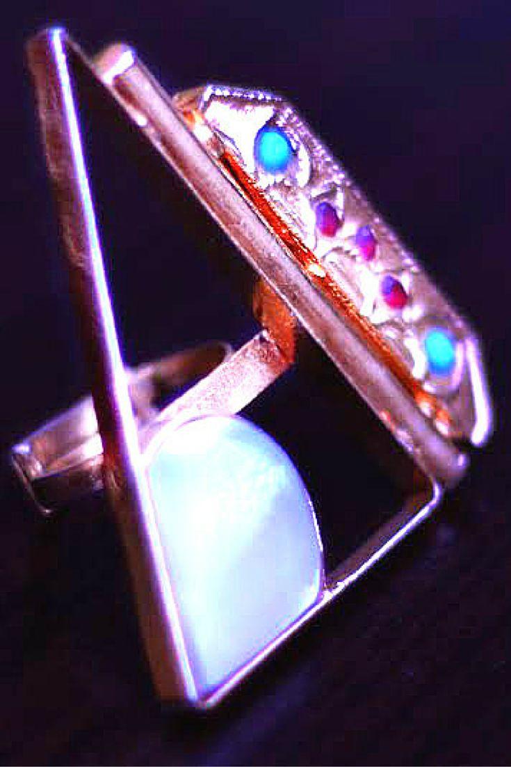 #rings #geometric #kundan #artisan #handcrafted #statementrings #eastern #esfir #pearls