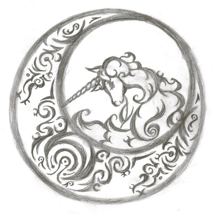 Best Unicorn Tattoos Ideas On Pinterest Unicorn Drawing