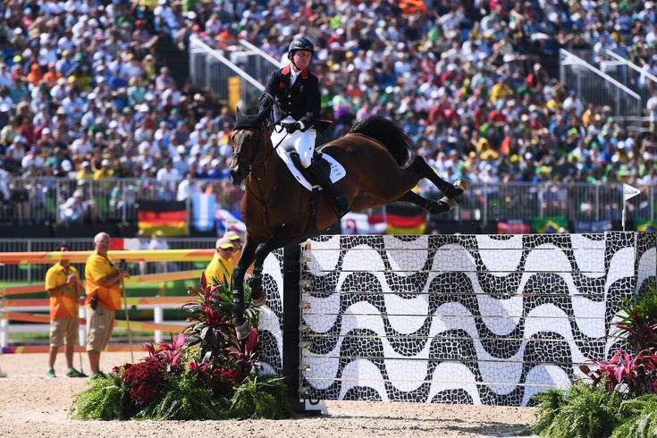 Team GB show jumper Ben Maher riding Tic Tac at Rio 2016