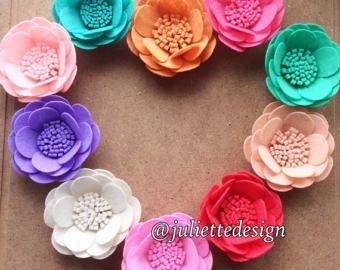 Felt Lavender Lavender Felt Lavender Bouquet by juliettesdesigntr