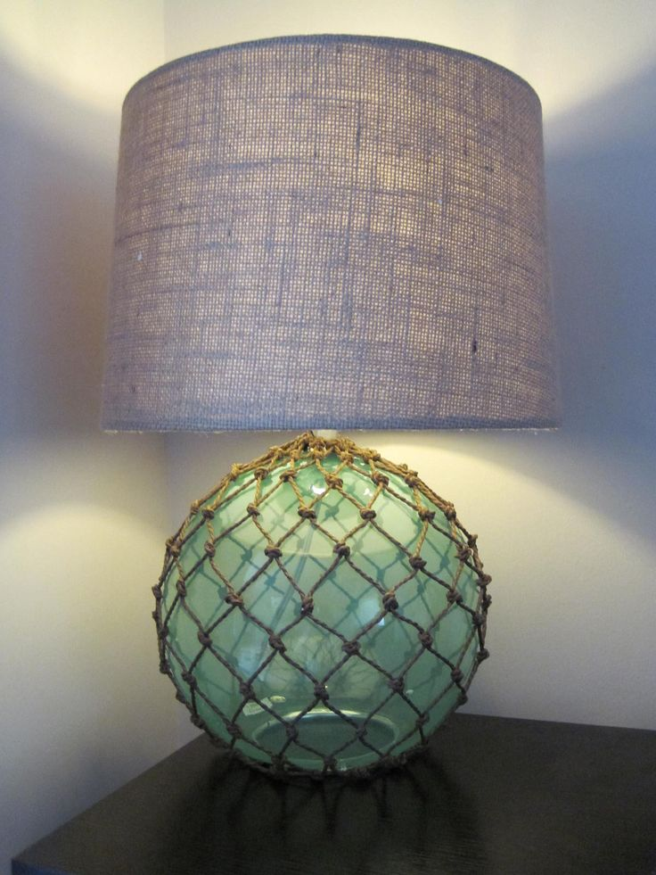 Fishnet Lamp from Marshall's  perfect for his pirate room