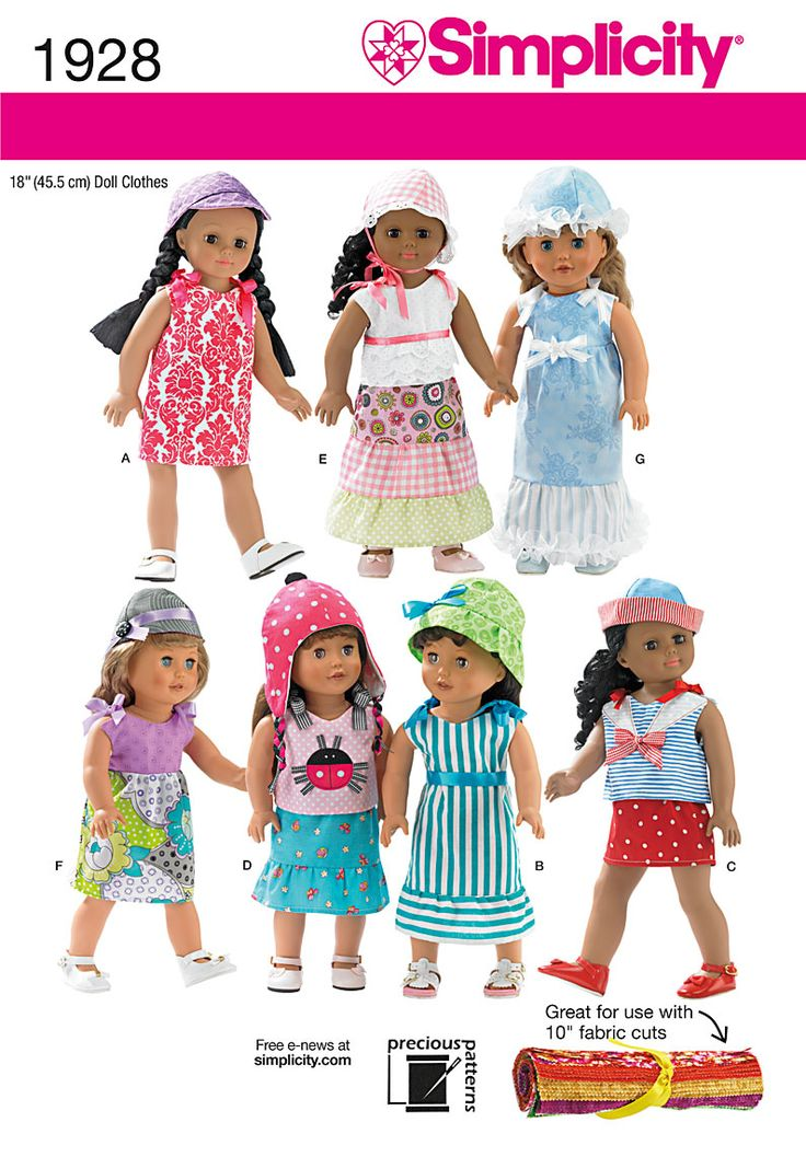 4015 best AG - 1 Sewing patterns images on Pinterest | Doll clothes ...