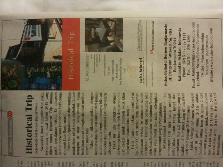 Today Media Kalimantan Post Swiss-Belhotel Borneo Banjarmasin