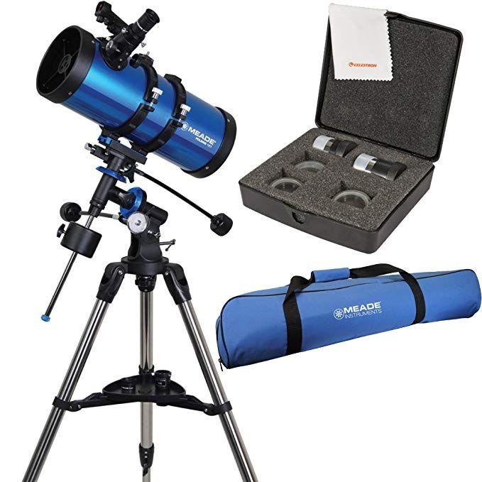 Meade Polaris 127mm f/7 9 Reflector Telescope w/ Travel Bag