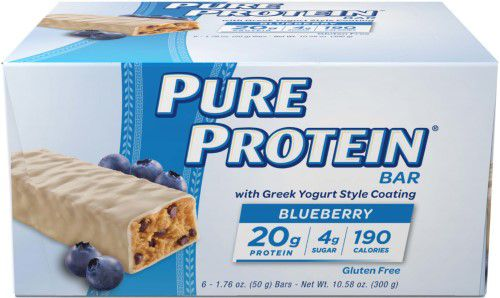 Pure Protein Bar, Blueberry, 1.76 Oz (Pack of 6)