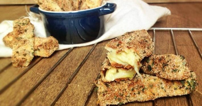 El aperitivo con el que vas a triunfar: palitos de calabacín crujiente al horno