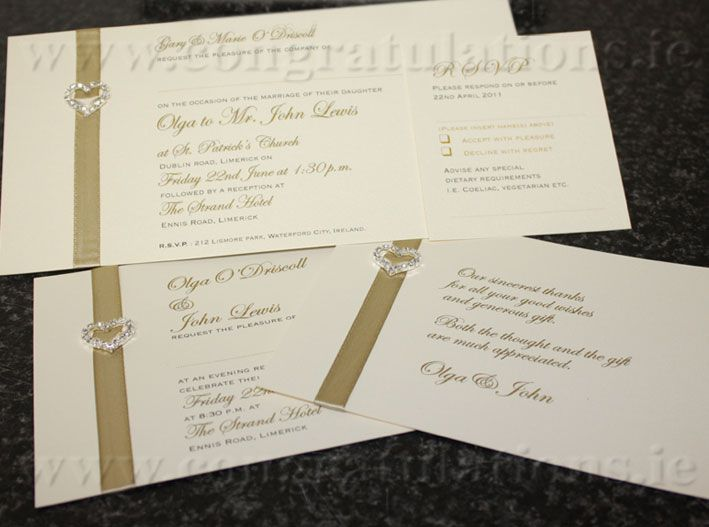 "The ""Love"" Wedding Stationery Collection"