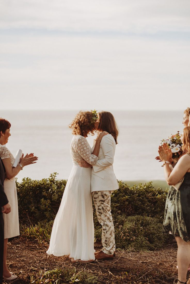 small intimate weddings southern california%0A Same Sex Wedding Elopement at Carmel by the Sea near Big Sur in California
