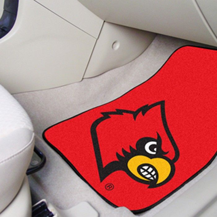 Louisville Cardinals Red Carpet Floor Mats for the University of Louisville college proud!