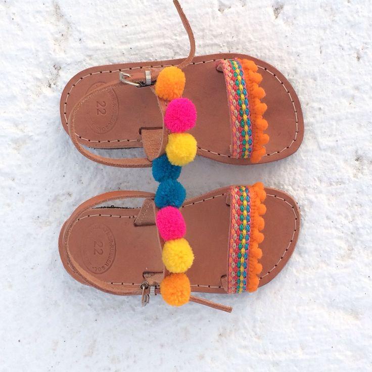 My lovely boho baby sandals