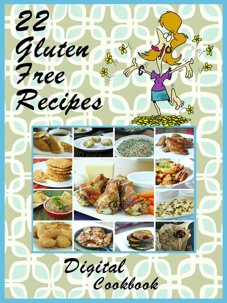 22 Delicious Gluten Free Recipes E-Book Cookbook CD-ROM