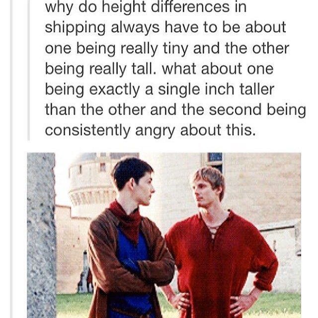 From @nimueh_ The perfect ship #arthurpendragon #merthur #merlin <<<I don't ship them, but honestly good point