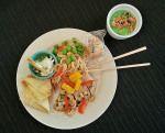 Sesame Cashew Chicken Salad #recipe from The Culinary Center of Kansas City
