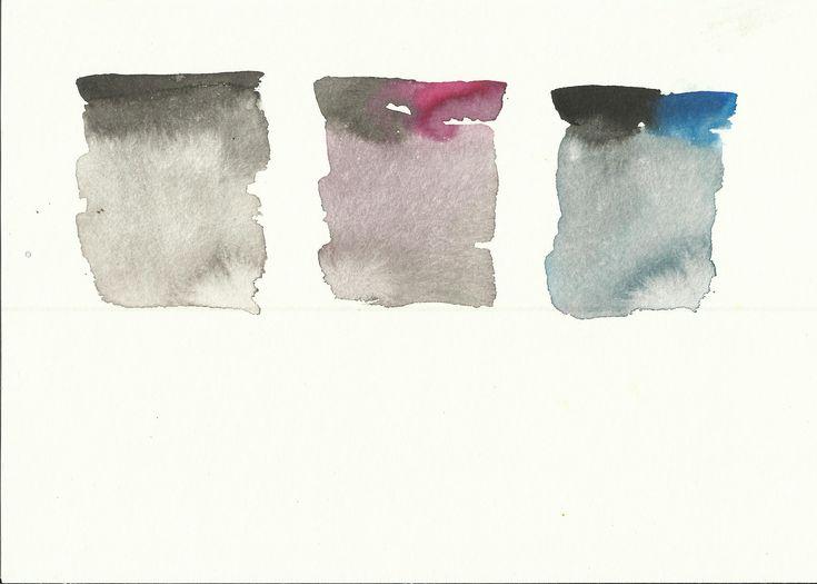 Kaltes Grau  (c) Zeichnung von Susanne Haun