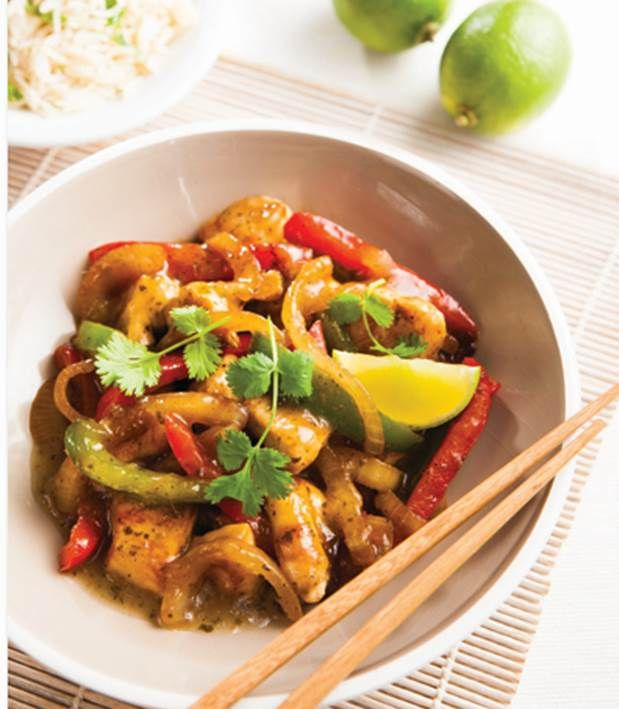 Compliments to the Chef with this Lime, Lemongrass & Ginger Chicken Stir Fry #TheSecretChef #Aldi